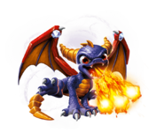 Spyro Series 2 Transparent Render