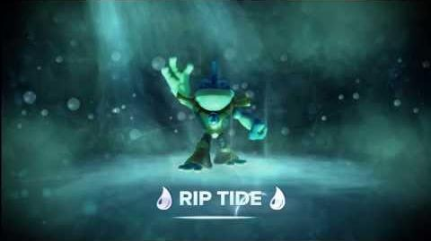 "Meet the Skylanders - Rip Tide ""Go Fish!"" Official Trailer"