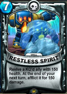 Restless Spirit Animated Card