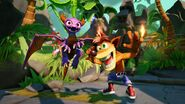 Spyro Crash Imaginators-Screen