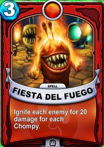 Fiesta del Fuegocard