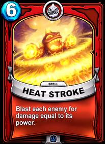 Heat Strokecard