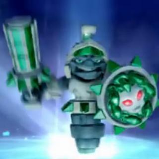 Nuevo escudo de Doom Stone de su ruta superior
