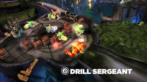 Skylanders Spryo's Adventure Official Drill Sergeant Trailer
