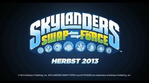 Skylanders SWAP Force Deutscher Trailer