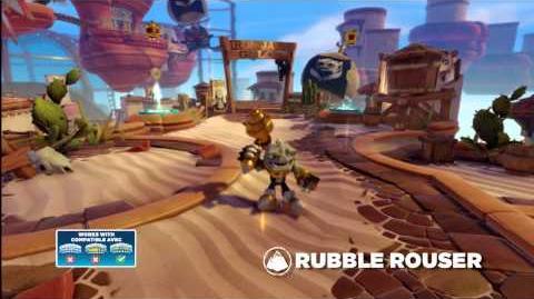 Meet the Skylanders Rubble Rouser