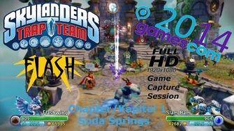 Soda Springs - Chapter Kapitel 1 Skylanders Trap Team Gamescom 2014 Capture Gameplay