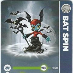 Carta de Bat Spin