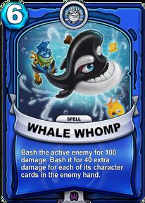 Whale Whompcard
