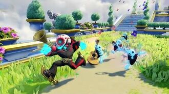OFFICIAL Skylanders SuperChargers Action Clips Fiesta