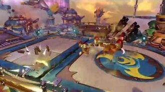 Skylanders Imaginators - Crash Bandicoot footage