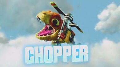 Skylanders Trap Team - Chopper's Soul Gem Preview (Dino Might)
