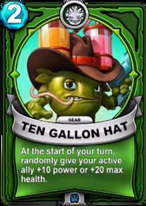 Ten Gallon Hat - Gearcard