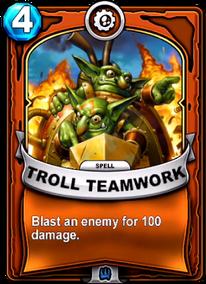 Troll Teamworkcard