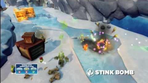 Meet the Skylanders Stink Bomb