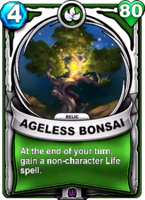 Ageless Bonsai - Reliccard