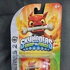 Rara figura de Fire Bone Hot Dog transparente, otras figuras así tienen diferente color del fuego de su hueso