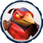 Tae Kwon Crow Villain Icon