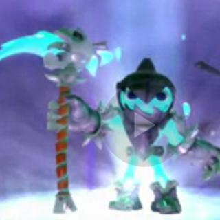 Grim Creeper con su nueva guadaña de su mejora