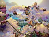 Los niveles en Skylanders Imaginators
