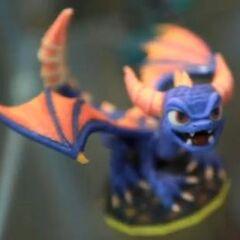 Prototipo de figura de Spyro