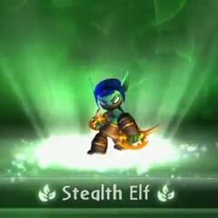 Stealth Elf entrando al portal