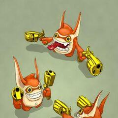 Bocetos de Trigger Happy