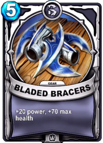 Bladed Bracers - Gearcard