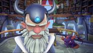Master Eon and Spyro