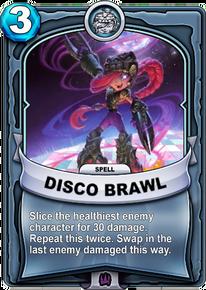 Disco Brawlcard