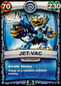 Erratic Vortex - Special Abilitycard