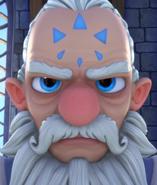 Master Eon's forehead marking