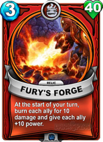 Fury's Forge - Reliquiacard