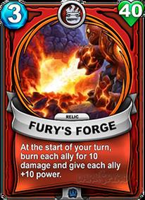 Fury's Forge - Reliquiacard