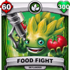 Carta de Food Fight de Skylanders: Battlecast