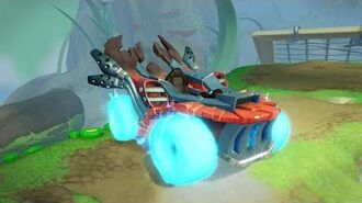 Meet the Skylanders SuperCharger Vehicles Hot Streak