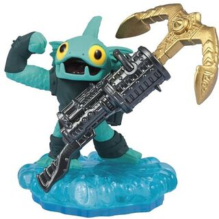 Figura de Anchors Away Gill Grunt