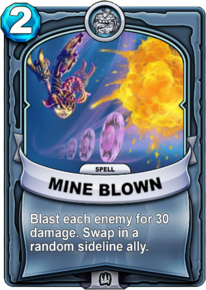 Mine Blowncard