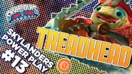 Skylanders Power Play- Tread Head