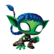 Whisper Elf Transparent Render