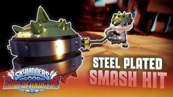 Action Clips Steel Plated Smash Hit l Skylanders Superchargers l Skylanders