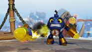 General Skylanders Swap Force Countdown with rocket