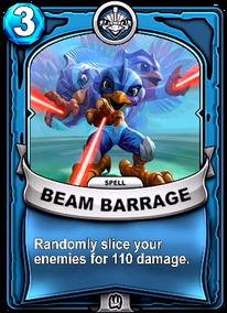 Beam Barragecard