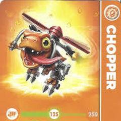 Carta de Chopper