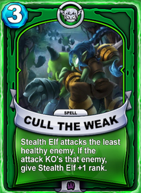 Cull The Weakcard