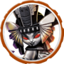 Dark Golden Queen Icon