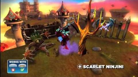 Skylanders Giants - Scarlet Ninjini Preview Trailer