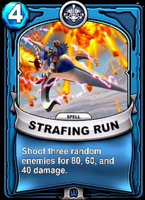 Strafing Runcard