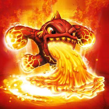 Skylanders Spyros Adventure: Eruptor