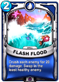 Flash Floodcard